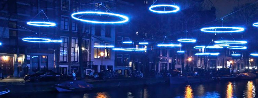 amsterdam light festival private boat tour