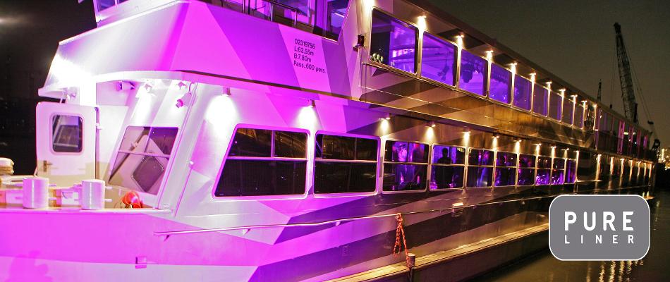 Covered Private Boat Amsterdam